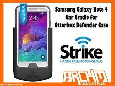 STRIKE SAMSUNG GALAXY NOTE 4 CAR CRADLE FOR OTTERBOX DEFENDER CASE