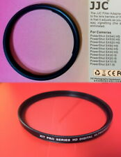 ADAPTER RING+UV FILTER 58mm>CANON POWERSHOT SX50 SX60 SX70 SX520 SX530 SX540 HS
