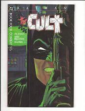 BATMAN: THE CULT - BOOK 4 COMBAT (JIM STARLIN, BERNI WRIGHTSON, 1988) NM/M