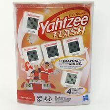 Electronic Yahtzee Flash Game Smart Dice 32729 Hasbro 2011 Sealed