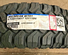 4 New LT 285 70 17 LRE 10 Ply Falken Wildpeak M/T01 Mud Tires