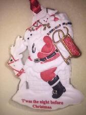 Wedgwood Ornament White Jasper Twas The Night Before Christmas Nib