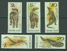 Russia Stamps 1990 Prehistoric Animals complete set MNH