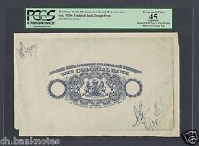 Barclays Bank -Dominion Colonial And Overseas 1920 Design Proof Specimen