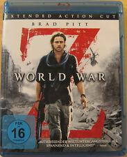 Blu-ray - World War Z - Brad Pitt - neuwertig - kostenloser Versand