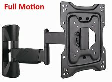 "Full Motion TV Bracket For Most 32 40 42"" Tilt Swivel Articulating TV Wall Mount"