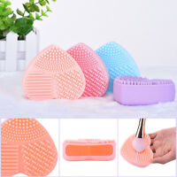 Hot Silicone Makeup Brush Cleaner Washing Scrubber Board Cosmetic Cleaning Glove