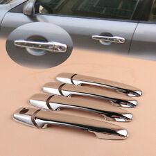 4X Chrome Exterior Door Handle Cover Trim For Mazda M6 2003-2008 M3 2004-2009