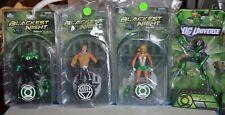 Green Lantern Blackest Night Lot 4 Total Figures AquaMan! Dcu Lantern Dc Comi 00004000 Cs!