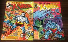 DIE NEUEN X-MEN (Condor) -- 1990 Comic Magazine #5 + #6 -- German Editions