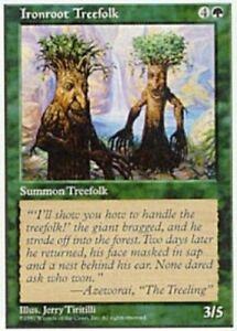 Ironroot Treefolk x4 - 5th Edition - Light Play, English - 5th Edition