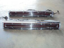 1967 LINCOLN CONTINENTAL TAIL LIGHTS TAILLIGHTS LAMPS SET 66 67
