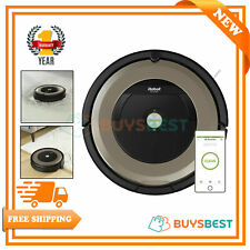 iRobot Roomba 891 WiFi Connect Robot Vacuum Cleaner Bagless 0.6L Black & Brown