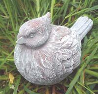 "Cardinal latex mold w plastic backup bird plaster concrete mould 7"" x 4"" x 4"""