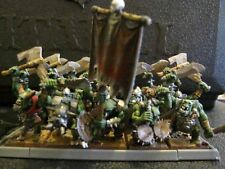 Warhammer Fantasy Battle Orcs regiment painted OOP