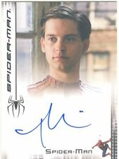 Spiderman 3 The Movie Autograph Card Tobey Maguire as Spider-man