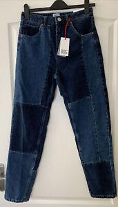 Urban Outfitters Mom Jeans BDG Dark Blue Denim Size W29 L32 BNWT RRP £55