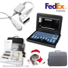 New CMS600P2 VET Veterinary Ultrasound Scanner 3.5 micro-convex,Dog/Cat,US FedEx