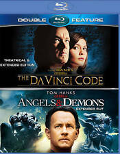 The Da Vinci Code + Angels & Demons NEW Bluray disc/case/cover-no digital/slip