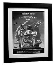 SILVERSUN+LP+Lava+POSTER+AD+RARE ORIGINAL 1997+QUALITY FRAMED+FAST GLOBAL SHIP
