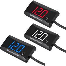 NEW Car Motorcycle 12V Digital LED Display Voltmeter Voltage Gauge Panel Meter