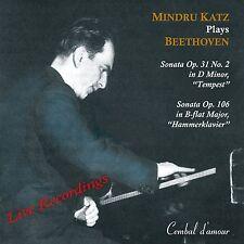 The Great Pianist Mindru Katz Plays Beethoven Sonatas