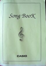 Original Casio Song Music Book for CTK-551 CTK-558 Keyboards, 92 Songs 108 Pages