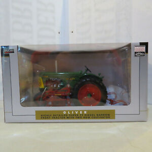 SpecCast Oliver Super 77 with 2-Row Cultivator 1:16 Scale OL-SCT702-B4