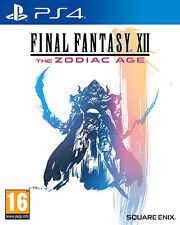 Final Fantasy 12 XII The Zodiac Age D1 Edition PS4 Playstation 4 IT IMPORT