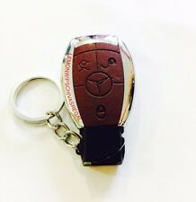 Car Key Fob Leather lighter Refillable Gas Windproof Lighter
