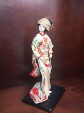 VINTAGE GEISHA GIRL DOLL ASIAN ORIENTAL JAPAN KIMONO