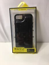 iPhone 7 / 8 Wallet Protection Case Black 1 ID Slot & 2 Card Slots Leather Feel