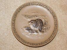 POOLE POTTERY STONEWARE WWF SEAL PLATE BARBARA LINLEY ADAMS LTD ED 7500