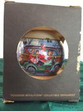"Harley Davidson 1997 Christmas Ornament ""Roadside Revelation"" Series Four USA"