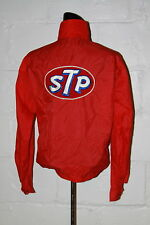 VTG Sir Jac STP Red Racing Jacket w Patches Sz S
