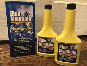 Blue Mountain Professional 2-Part Power Transmission Kit Includes Flush & Fluid