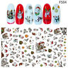 Halloween Designs Water Transfer Stickers Nail Art Decals  Nail Art Decorations^
