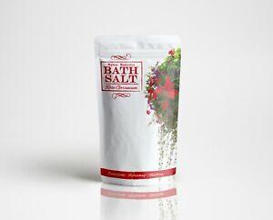 Mystic Moments Bath Salt - Rose Geranium - 250g (SALT250ROSEGERA)