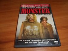 Monster (DVD, Widescreen 2004) Charlize Theron