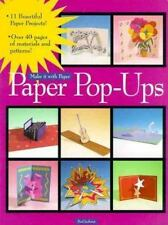 Paper Pop-Ups (Make It With Paper)-ExLibrary
