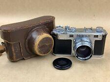 Nikon S Rangefinder Camera w/ 5cm f/1.4 Nikkor SC Tokyo Lens - Just Serviced