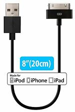 [Apple MFi Certified] HomeSpot 8 inches (20 centimeters) 30 Pin comp USB Cable