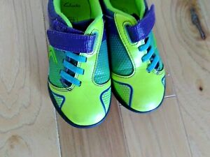 Kids  Boys Clarks Award Leap Sporty Look Trainers shoes