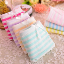 Wholesale 3pcs Soft breathable cotton underwear Ms. bubble bow flower panties