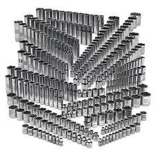 Craftsman 299 piece Ultimate Socket Set Mechanic DIY Easy Read Chrome handyman