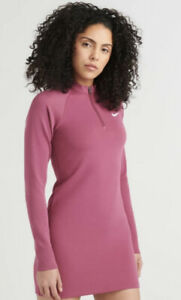NIKE NSW LONG SLEEVE DRESS SIZE MEDIUM BNWT SOLD OUT RRP$75