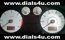 SEAT LEON Mk1 (1998-2006)- 140mph or 160mph CUPRA (Petrol-Diesel) WHITE DIAL KIT