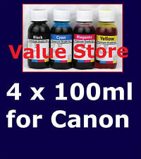 4x 100ml inks for Canon PG-37/CL-38,PG-40/CL-41,PG-50