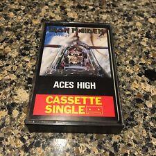 Iron Maiden - Aces High Cassette Single (1984, EMI Recording LTD) Super Rare!