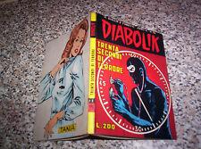 DIABOLIK ANNO X ORIGINALE N.15 DEL 1971 OTTIMO TIPO KRIMINAL SATANIK KILLING